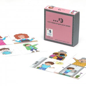 Because – a memory game that teaches cause and effect phrases